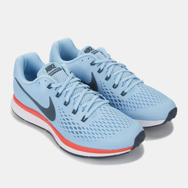 low priced 5139a deb9d Shop Blue Nike Air Zoom Pegasus 34 Running Shoe for Mens by ...