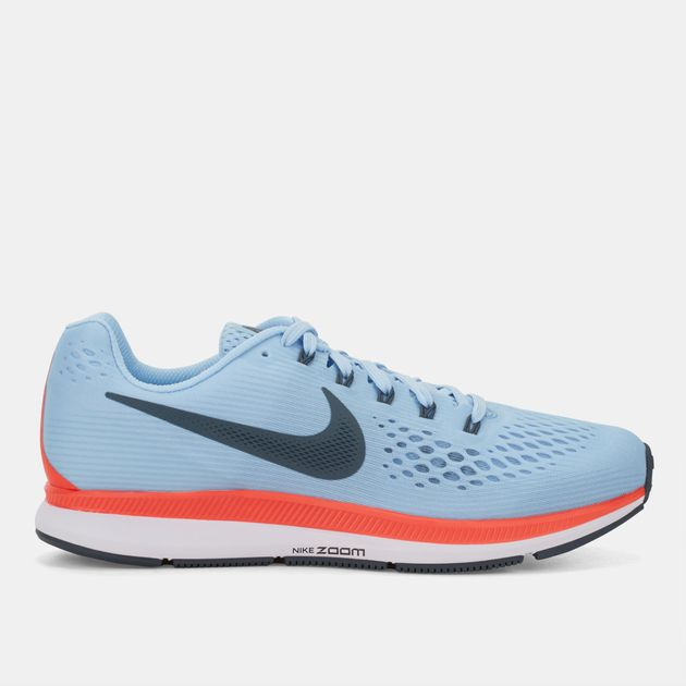 e22a08789969 Shop Blue Nike Air Zoom Pegasus 34 Running Shoe for Womens by Nike ...