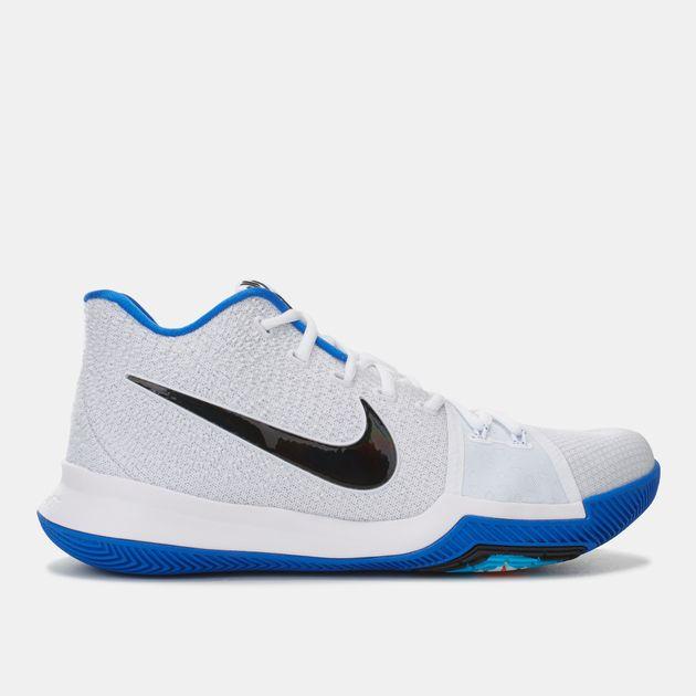info for 2e244 88801 Shop White Nike Kyrie 3 Basketball Shoe for Mens by Nike - 5 ...