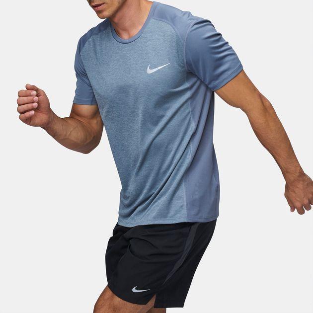 50c414f67b2d7 Shop 41 Nike Dry Miler Running T-Shirt for Mens by Nike | SSS