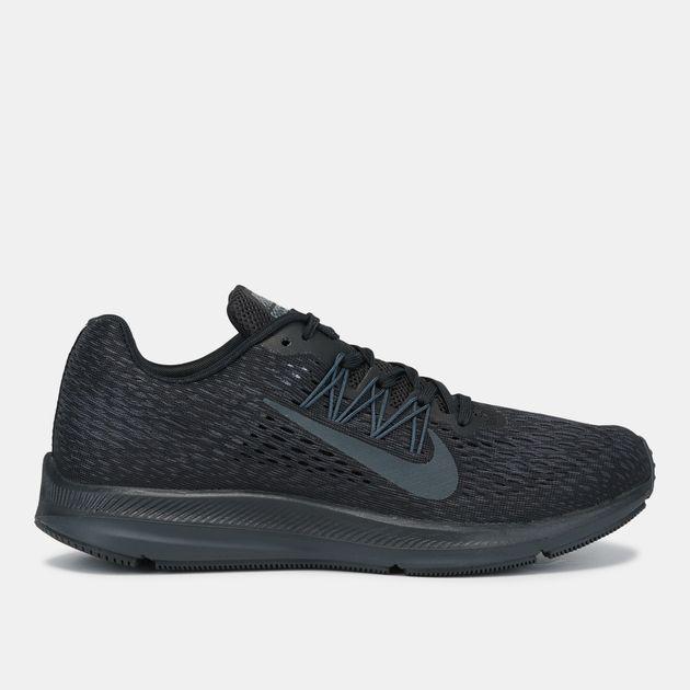 53ebe9d8cf4 Shop Black Nike Air Zoom Winflo 5 Running Shoe