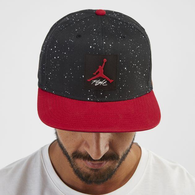 detailed look 77a51 c313a Jordan Pro AOP Snapback Cap - Black, 1248840