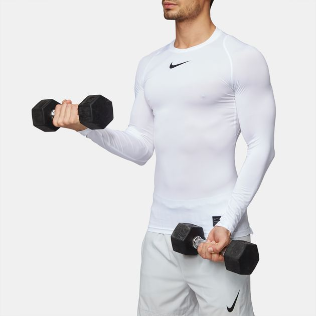 Nike Pro Long Sleeve Compression Top Mens