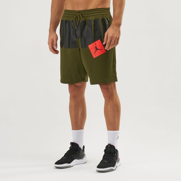 80572f81168 Shop Green Jordan Jumpman Air Mesh Shorts | Shorts | Clothing ...
