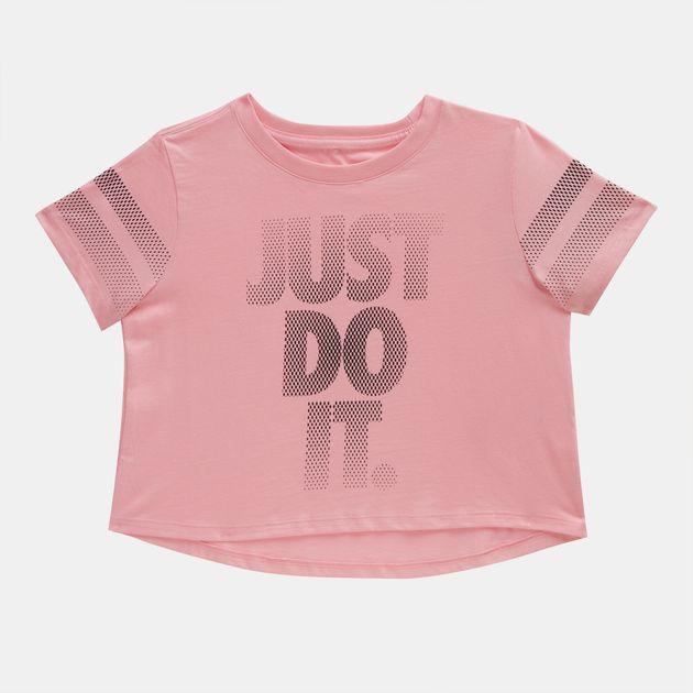 Nike Kids' Sportswear Cropped T-Shirt