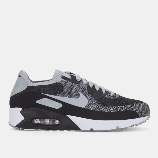6088b9bdffc36 Shop Black Nike Air Max 90 Ultra 2.0 Flyknit Shoe for Mens by Nike | SSS