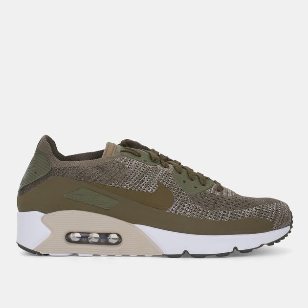 948f47bf87 Shop Green Nike Air Max 90 Ultra 2.0 Flyknit Shoe for Mens by Nike ...