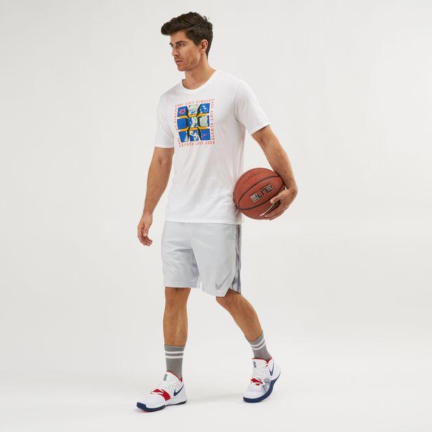 factory authentic 4c46a 48aff Shop White Nike Dri-FIT KD T-Shirt   T-Shirts   Tops ...