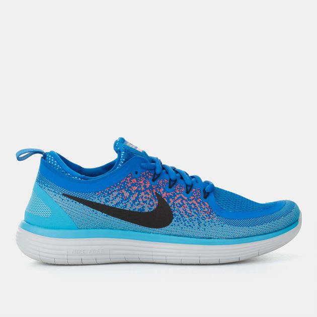 brand new 1d43d 9b189 Shop Blue Nike Free RN Distance 2 Running Shoe for Mens by ...