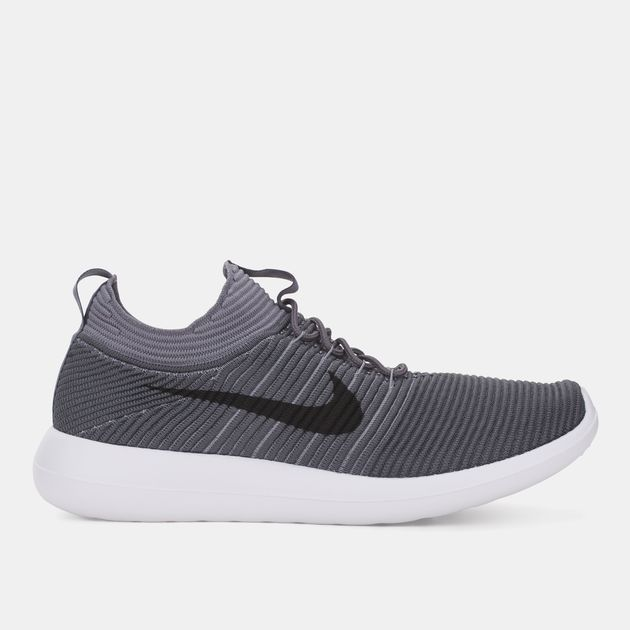 new style 6cebe 28151 Shop Grey Nike Roshe Two Flyknit V2 Running Shoe for Mens by ...