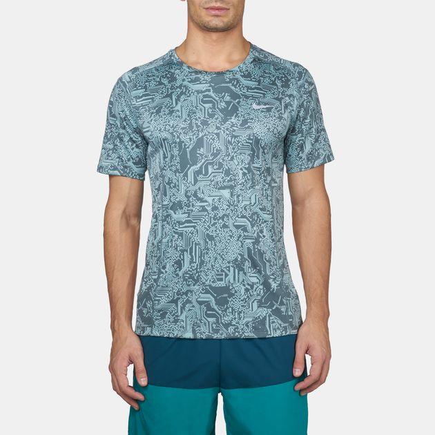 Fit Sleeves Running Short Miler T Shirts Dri Uv Nike Shirt 1wTnXq5x