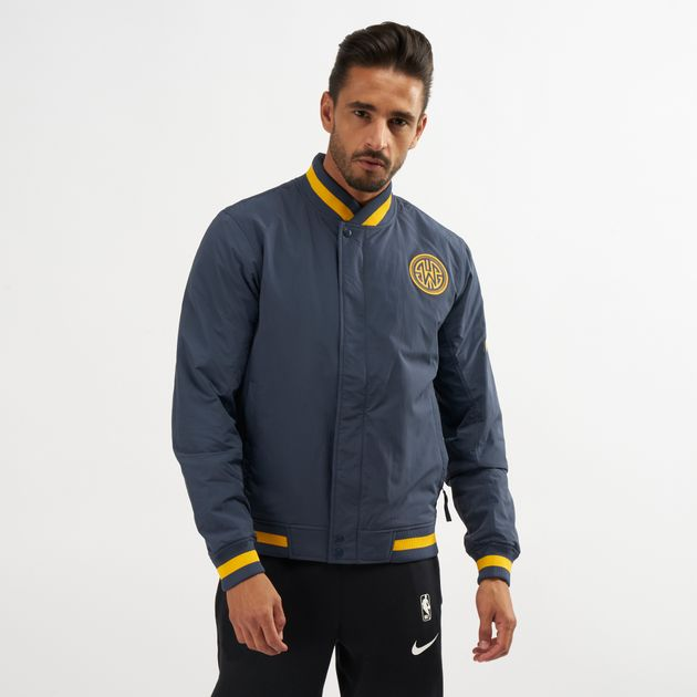 Nike Nba Golden State Warriors Courtside Jacket Track Jackets
