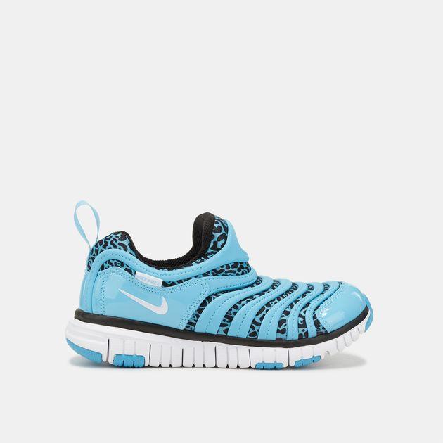49ba3dcdd0a9 Shop Blue Nike Kids  Dynamo Free Print Shoe (Pre School) for Kids by ...