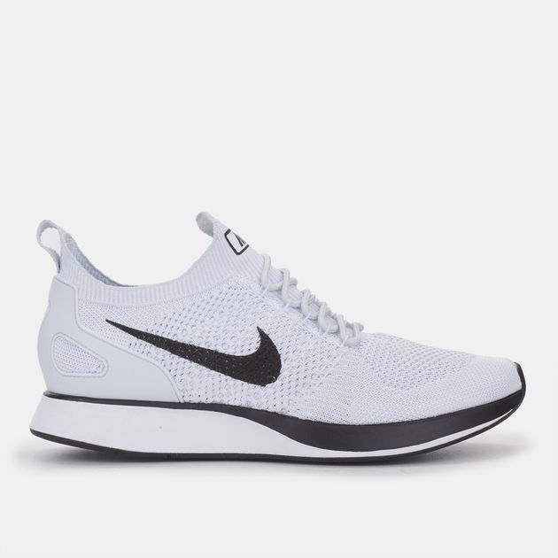 7f89785b516d Shop Grey Nike Air Zoom Mariah Flyknit Racer Running Shoe for Mens ...