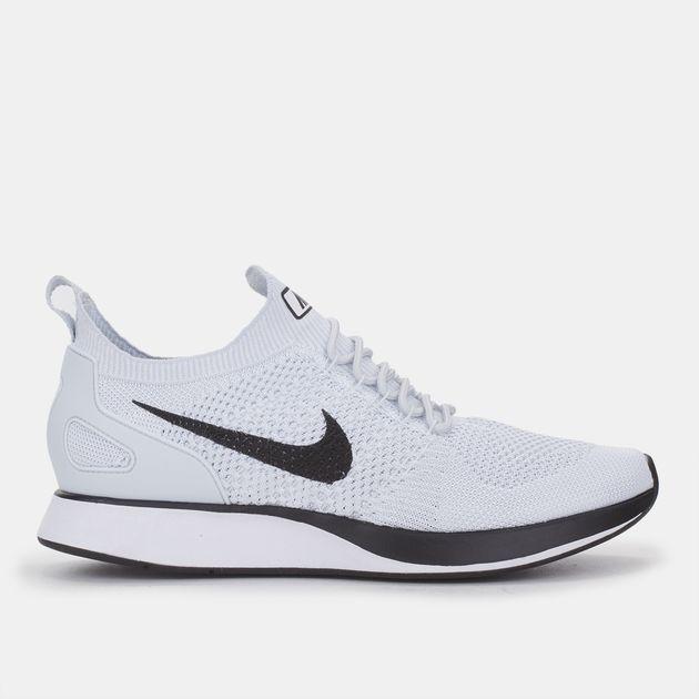 ac538b4502879 Shop Grey Nike Air Zoom Mariah Flyknit Racer Running Shoe for Mens ...