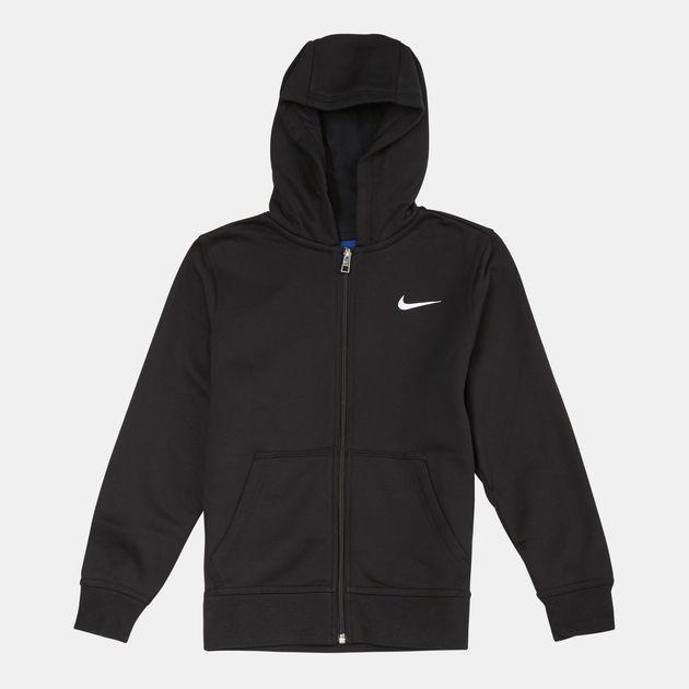 4def87d8 Nike Kids' Brushed Fleece Full Zip Hoodie (Older Kids)