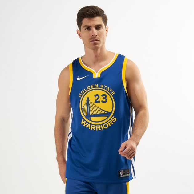 100% authentic f3835 96fa2 Nike Men's NBA Golden State Warriors Draymond Green Icon Edition Swingman  Jersey