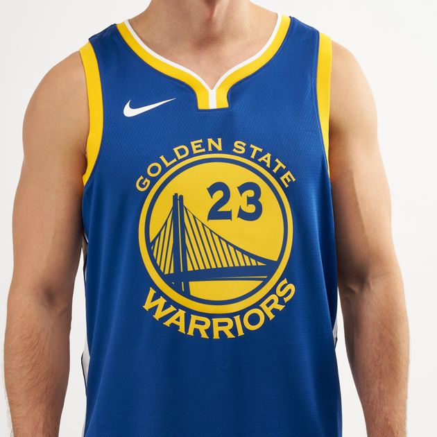 100% authentic c6607 48a9e Nike Men's NBA Golden State Warriors Draymond Green Icon Edition Swingman  Jersey