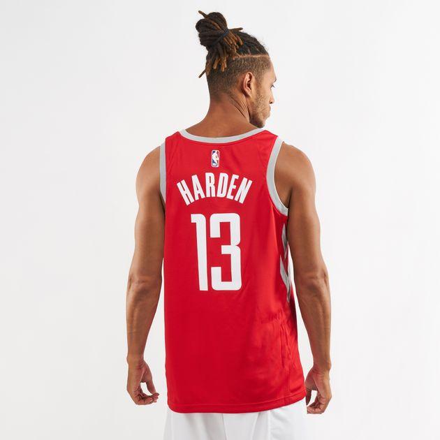 half off 7c7d2 6373f Nike NBA Houston Rockets James Harden Icon Edition Swingman Jersey