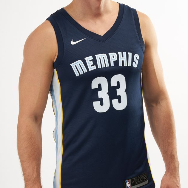 premium selection 5236f b7f6d Nike Mens NBA Memphis Grizzlies Marc Gasol Icon Edition ...