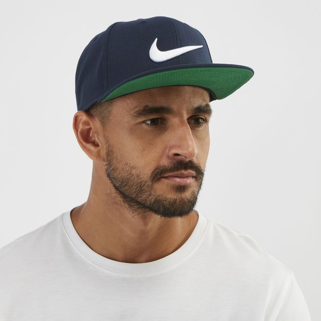 Shop Blue Nike Swoosh Pro Cap  684008e8cf8
