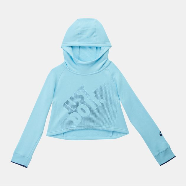 Nike Kids' Sportswear Cropped Pullover Hoodie