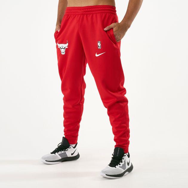 Nike Men s NBA Chicago Bulls Spotlight Sweatpants  bcd134121ae8