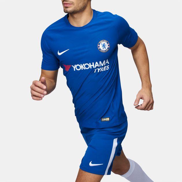 quality design 90d52 0a2b0 Shop Blue Nike Chelsea FC Vapor Match Home Jersey for Mens ...