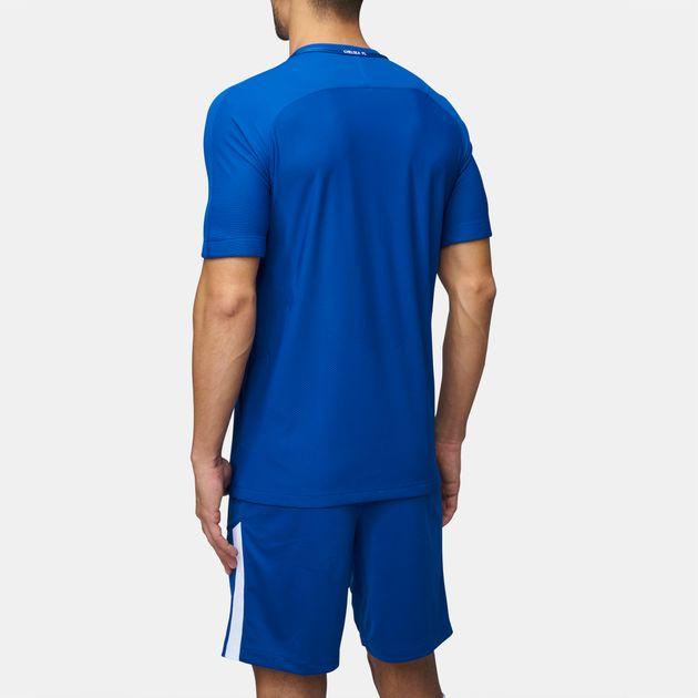quality design a9178 37d0f Shop Blue Nike Chelsea FC Vapor Match Home Jersey for Mens ...