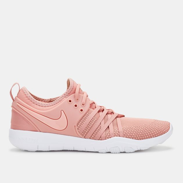 c612d3d19210 Shop Pink Nike Free TR 7 Training Shoe for Womens by Nike