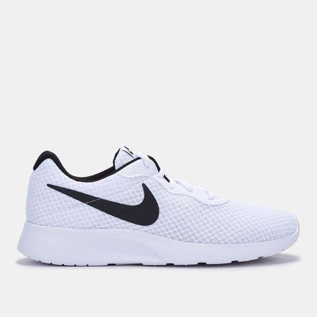 3731700dafa Shop White Nike Tanjun Shoe for Mens by Nike