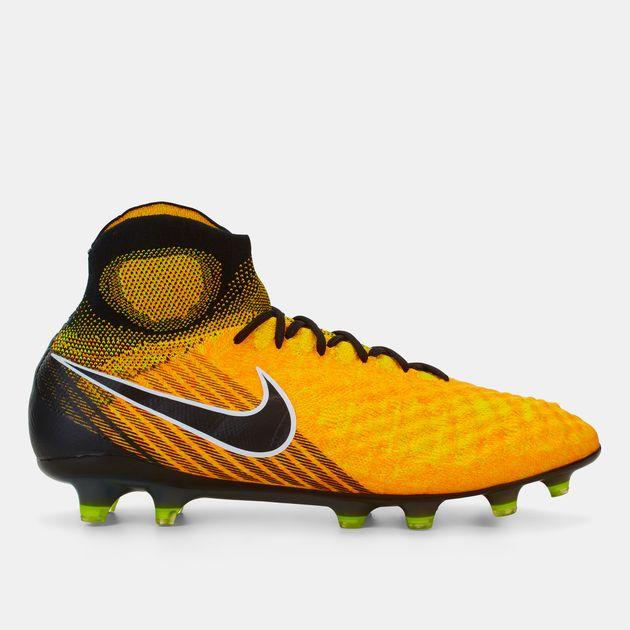 ce97aeb5c212 Shop Orange Nike Magista Obra II FG Firm-Ground Football Shoe for ...