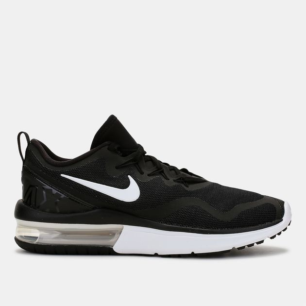 Shop Black Nike Air Max Fury Running Shoe for Womens by Nike  d4d4f672512