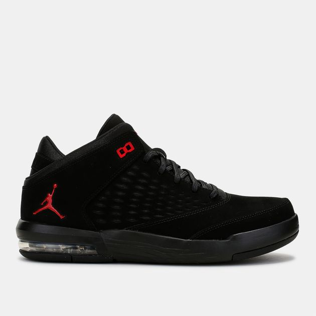 newest 52613 551b3 Shop Black Jordan Flight Origin 4 Basketball Shoe for Mens ...