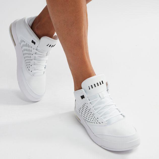 sports shoes 80ad0 ae72f Shop White Jordan Flight Origin 4 Basketball Shoe for Mens ...