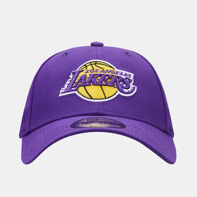 size 40 uk store 100% quality New Era Men's NBA Los Angeles Lakers 9Forty Adjustable Cap