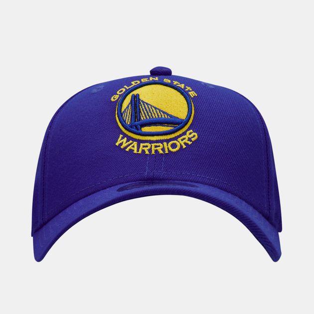 sports shoes 6e14e e8e20 New Era Men s NBA Golden State Warriors The League 9FORTY Cap - Blue,  1581850