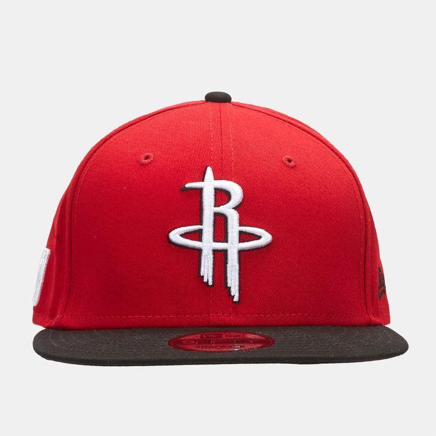 buy online 75681 c4a2b New Era NBA Houston Rockets 9FIFTY Snapback Cap, 897238