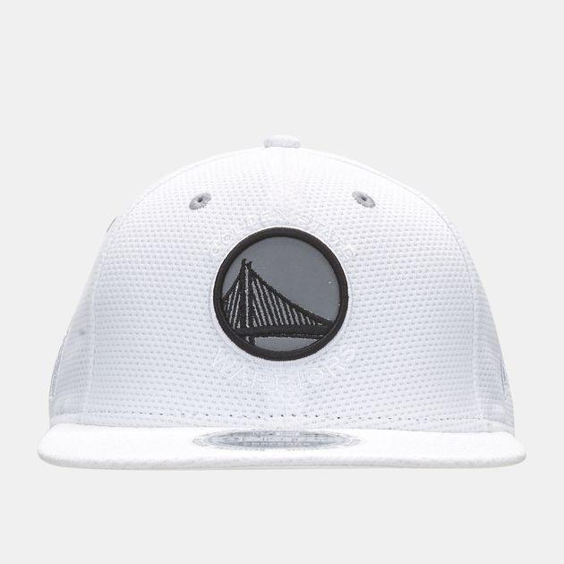 5ada1d61c70 Shop White New Era NBA Golden State Warriors Reflective Pack 9FIFTY ...