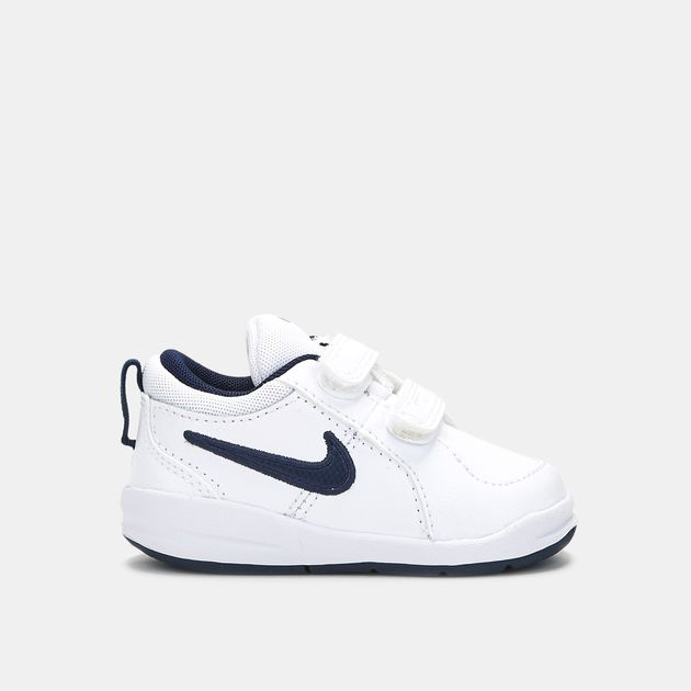 6c090f52e73 Shop White Nike Kids  Pico 4 Shoe (Toddler) for Kids by Nike