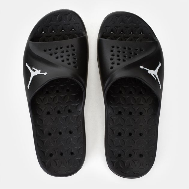 a83dae28fcee65 Shop Black Jordan Super.Fly Team Slide Slippers for Mens by Jordan