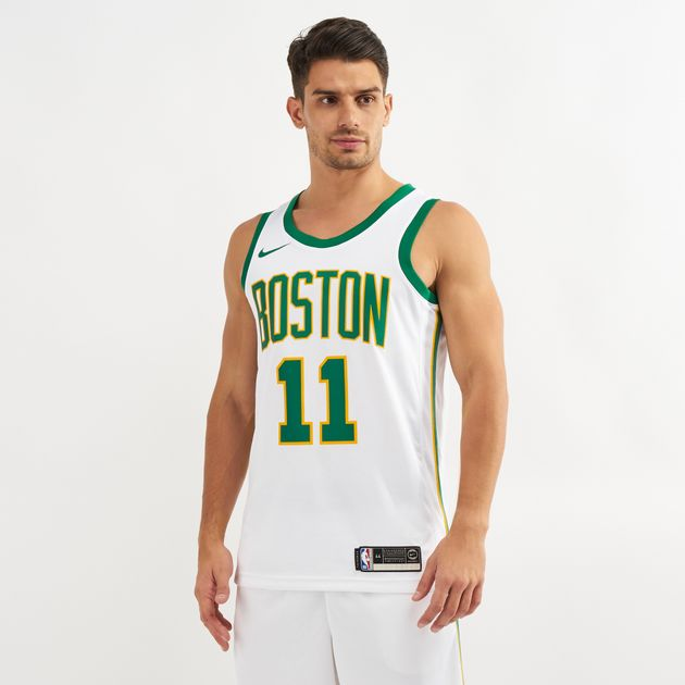 9a6542323 Nike NBA Boston Celtics Kyrie Irving Swingman City Edition Jersey - 2018