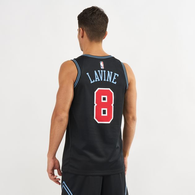 reputable site c65c1 6311f Nike NBA Chicago Bulls Zach LaVine Swingman City Edition ...