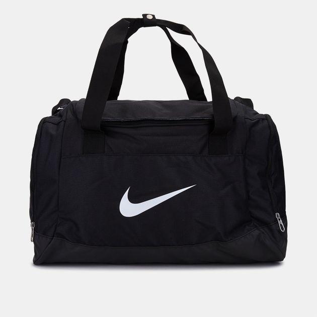 ba1571f11ce84b Shop Black Nike Club Team Swoosh Duffel Bag for Mens by Nike | SSS