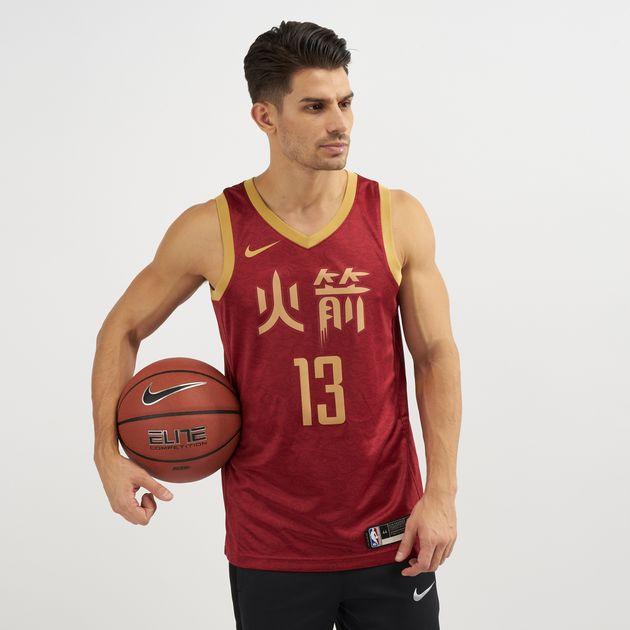 wholesale dealer bcd69 9351f Nike NBA Houston Rockets Swingman City Edition Jersey 2018