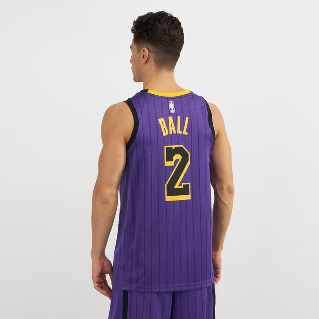 low priced b8674 1120a Nike NBA Los Angeles Lakers Swingman City Edition Jersey ...