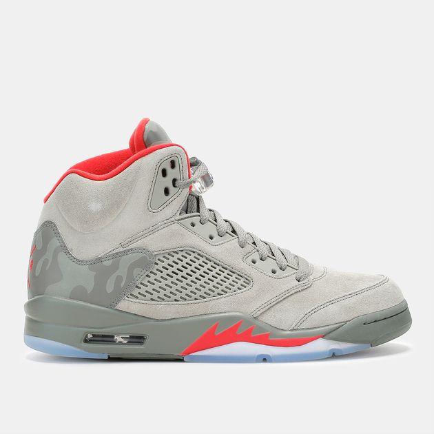 Shop Green Jordan Air Jordan 5 Retro Shoe for Mens by Jordan ...