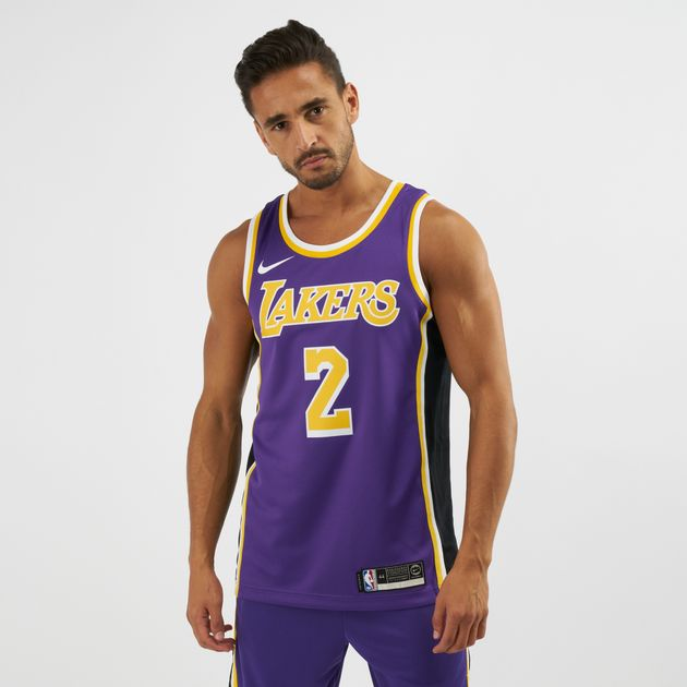 90d02293 NBA Los Angeles Lakers Lonzo Ball Statement Edition Swingman Jersey, 1401160