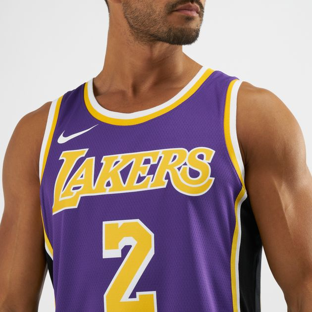 4f73d18c498 NBA Los Angeles Lakers Lonzo Ball Statement Edition Swingman Jersey, 1401163