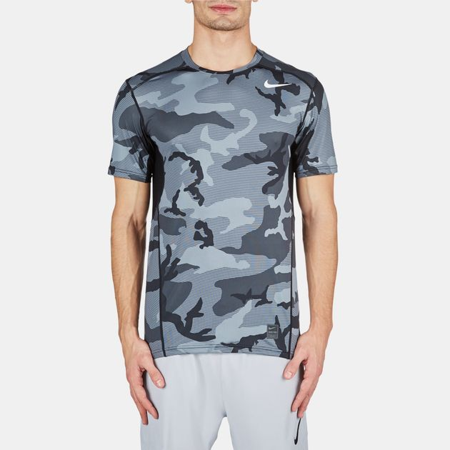 8d963ecb Shop Black Nike Pro Hypercool Fitted T-Shirt for Mens by Nike | SSS